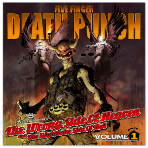 Five Finger Death Punch - The Wrong Side Of Heaven And The Righteous Side Of Hell Volume 1 Deluxe CD