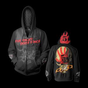 Five Finger Death Punch Knucklehead Custom Hoodie