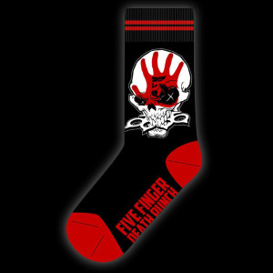 Five Finger Death Punch Knucklehead Socks