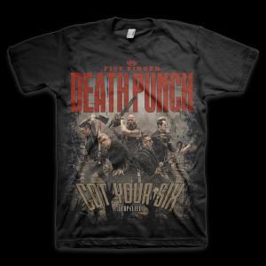 5 Finger Death Punch Zombie Killers T-Shirt