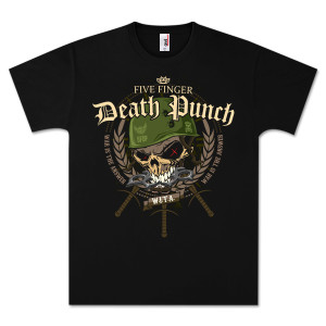 Five Finger Death Punch T-Shirts  | Five Finger Death Punch Warhead Tour T-Shirt | Shop the Five Finger Death Punch Official Store