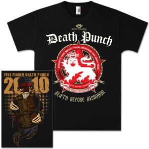Five Finger Death PunchT-Shirts | Five Finger Death Punch Death Before Dishonor Tour T-Shirt|Shop the Five Finger Death Punch Official Store