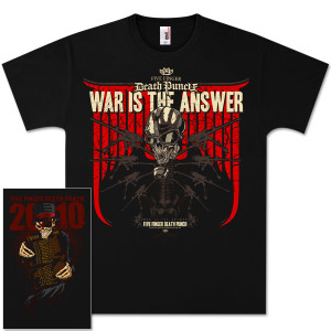 Five Finger Death Punch T-Shirts  | Five Finger Death Punch Warmachine Tour T-Shirt | Shop the Five Finger Death Punch Official Store
