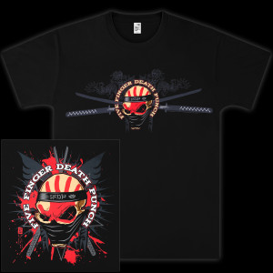 Five Finger Death Punch Samurai T-Shirt