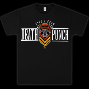 Five Finger Death Punch Limited Edition Shield T-Shirt