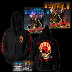 Five Finger Death Punch Deluxe Hoodie Bundle