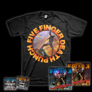 Five Finger Death Punch Deluxe T-Shirt Bundle