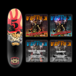 Five Finger Death Punch Deluxe Skate Deck Bundle