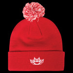 Five Finger Death Punch Knuckles Beanie - Red