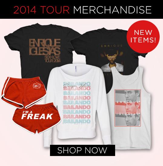 2014 Tour Merch