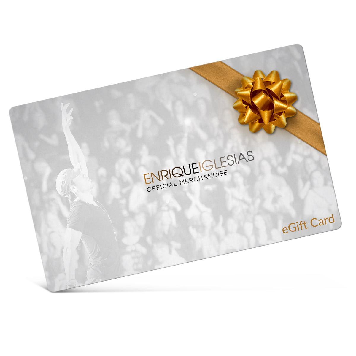 Enrique Iglesias eGift Cards