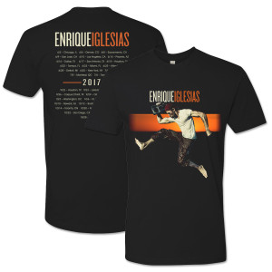 Enrique 2017 Tour Shirt