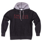 Black Hoodie with Red Writing