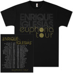 Enrique Iglesias Euphoria Tour T-Shirt - NEW!