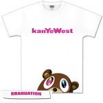 Kanye West Half Bear Tee