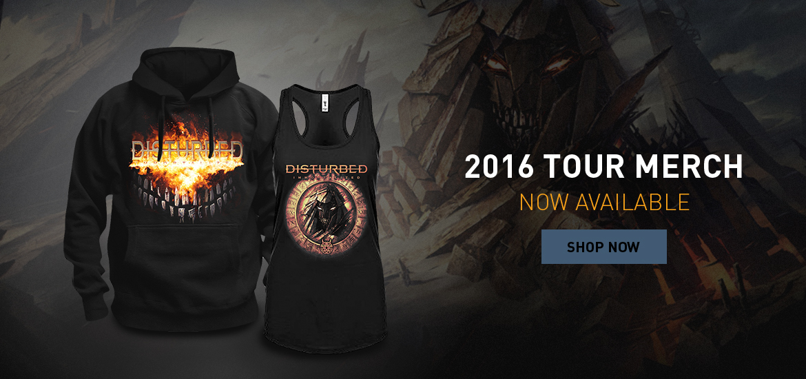 Shop 2016 Tour Merch