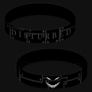 Disturbed Collection Rubber Bracelet