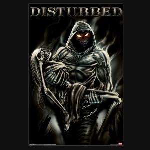 Disturbed Lost Souls Poster