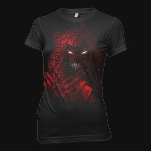 Disturbed Seeing Red Junior T-Shirt