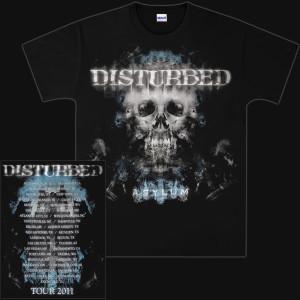 Disturbed Silent Hill 2011 Tour T-Shirt