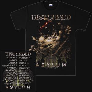 Disturbed Breakout 2011 Tour T-Shirt