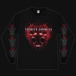 Disturbed Old School Metal Longsleeve T-Shirt