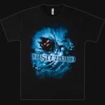 Disturbed Blue Fade T-Shirt