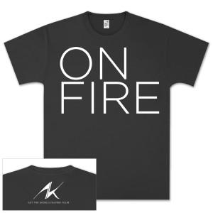 Alicia Keys Girl On Fire T-Shirt
