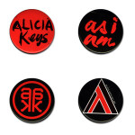 Alicia Keys Button Pack