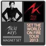 Alicia Keys Magnet Set