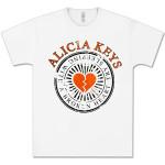 Alicia Keys Heartbreak White T-Shirt