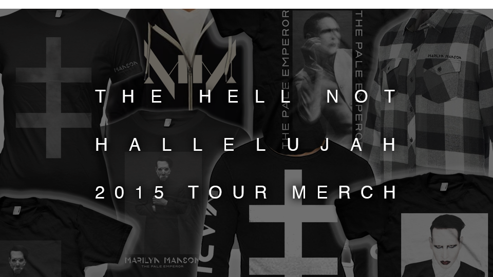 2015 Tour Merch