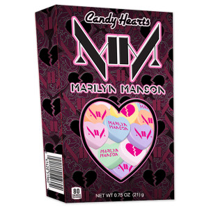 Marilyn Manson Candy Hearts