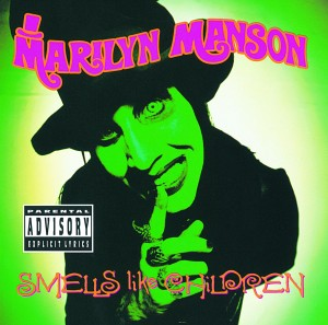 Marilyn Manson Smells Like Children CD