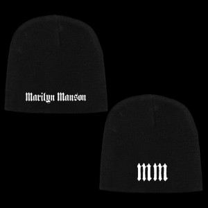 Marilyn Manson Holy Wood Logo Beanie