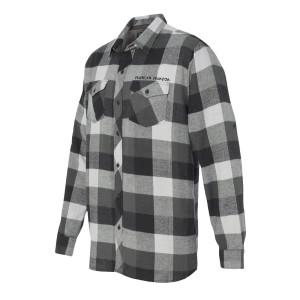 Marilyn Manson Logo Flannel Shirt