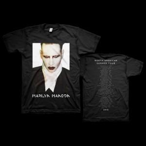 Marilyn Manson Proper 2016 Dateback Tee