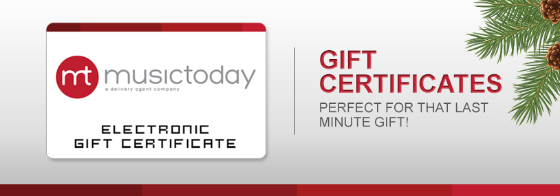 Musictoday Superstore Gift Certificates