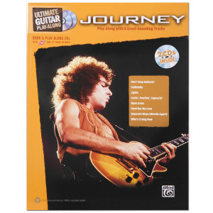 Journey Ultimate Guitar Play Along Songbook