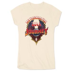 Journey 2014 Tour San Francisco Ladies T-Shirt