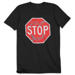 Journey 2015 Tour Stop Sign Don't Stop Believin' T-Shirt
