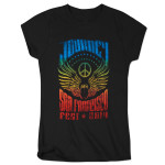 Journey 2014 Tour Peace Logo Ladies T-Shirt