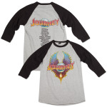 Journey 2015 Tour Canada Raglan T-Shirt