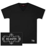 Neal Schon Black V-Neck T-Shirt