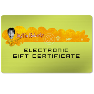 Justin Roberts Electronic Gift Certificate