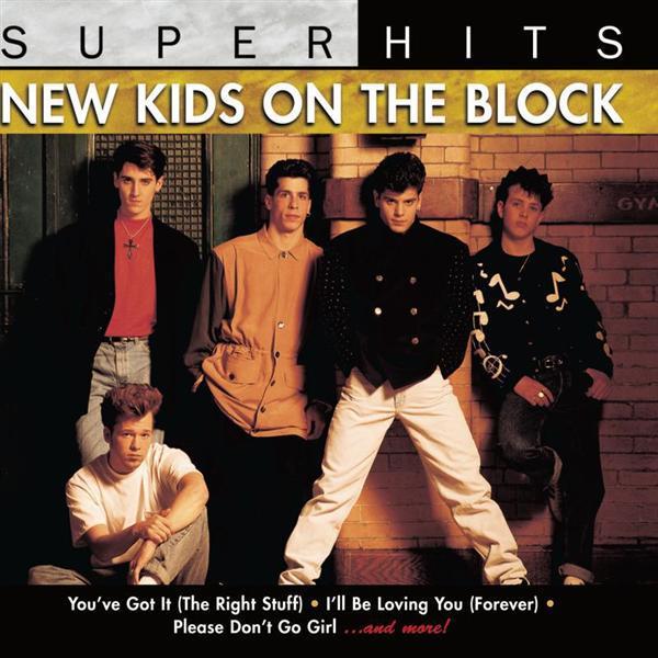 New Kids On The Block Tour Souvenir Collection Album Cover