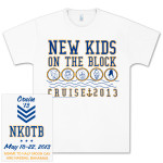 New Kids On The Block Doodle Face Logo T-Shirt