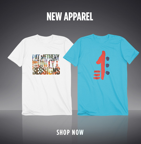 New Pat Metheny Shirts