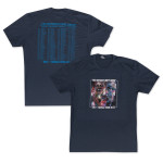 Pat Metheny Unity Group World Tour 2014 Navy T-Shirt