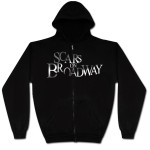 Scars on Broadway Silver Foil Zip Hoodie